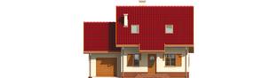 Projekt domu Raissa G1 - elewacja frontowa