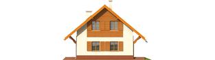 Projekt domu Raissa G1 - elewacja prawa