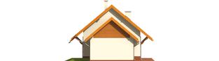 Projekt domu Raissa G1 - elewacja lewa