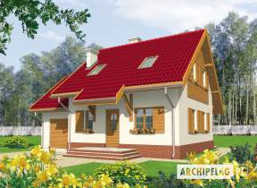 Projekt domu Raissa G1 - animacja projektu