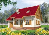 Projekt rodinného domu: Raisa (s garáží)