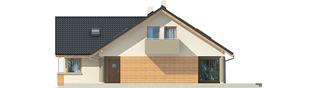 Projekt domu Malena G1 (wersja B) - elewacja prawa