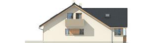 Projekt domu Malena G1 (wersja B) - elewacja lewa