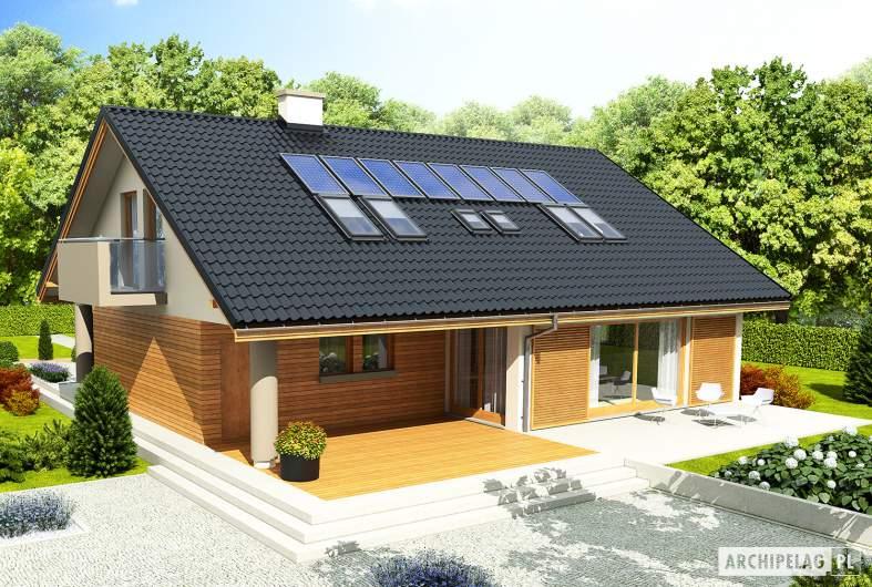 Projekt domu Malena G1 - widok z góry