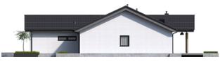 Projekt domu Simon IV G2 ENERGO PLUS - elewacja prawa