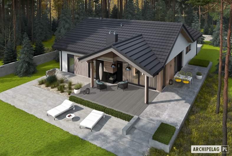 Projekt domu Simon IV G2 ENERGO PLUS - widok zgóry