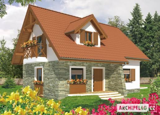 Projekt rodinného domu - Arnoštka