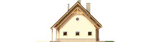 Projekt domu Olcia G1 - elewacja prawa