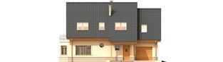 Projekt domu Olcia G1 - elewacja frontowa