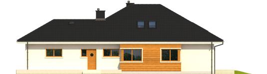 Liv 3 G2 - Projekt domu Liv 3 G2 - elewacja lewa
