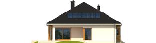 Projekt domu Liv 3 G2 - elewacja tylna
