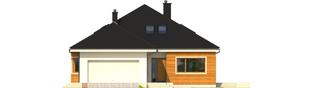 Projekt domu Liv 3 G2 - elewacja frontowa