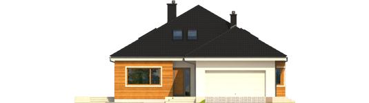 Liv 3 G2 - Projekt domu Liv 3 G2 - elewacja frontowa