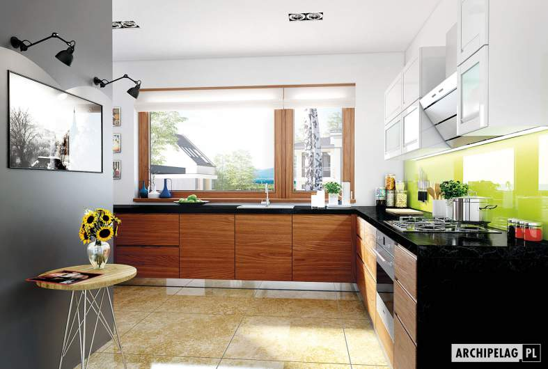 Projekt domu Liv 3 G2 - wizualizacja kuchni