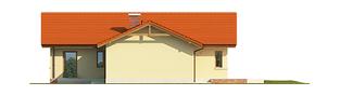 Projekt domu India G2 (wersja A) - elewacja lewa