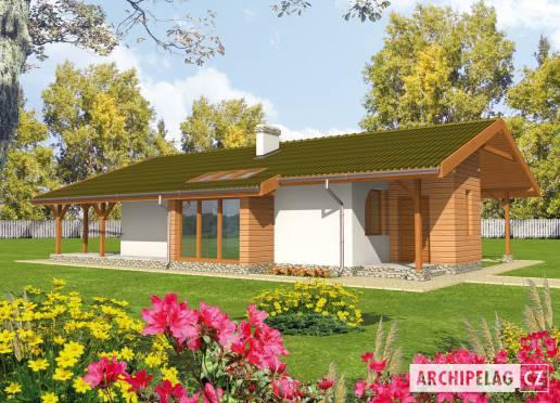 Projekt rodinného domu - Milada