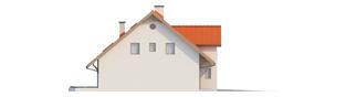 Projekt domu Rozanna II G1 - elewacja lewa