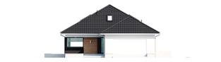 Projekt domu Alison IV G2 ENERGO PLUS - elewacja frontowa