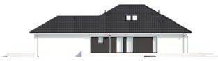 Projekt domu Alison IV G2 ENERGO PLUS - elewacja prawa