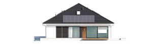Projekt domu Alison IV G2 ENERGO PLUS - elewacja tylna