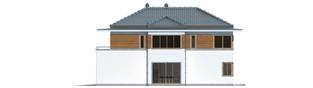 Projekt domu Leonardo G2 - elewacja lewa