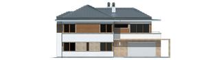 Projekt domu Leonardo G2 - elewacja frontowa