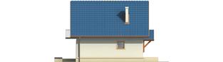 Projekt domu Dorotka - elewacja lewa