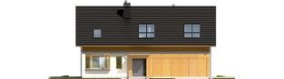 Projekt domu Benjamin II G2 ENERGO - elewacja frontowa