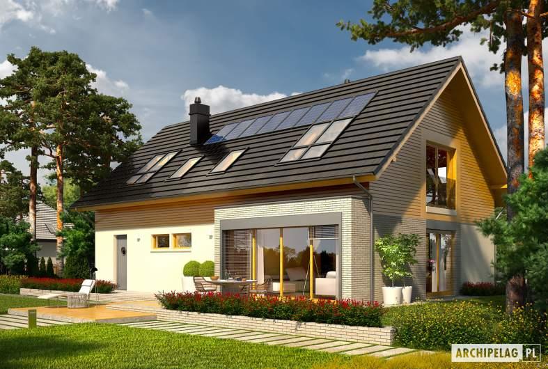 Projekt domu Benjamin II G2 ENERGO - Benjamin II G2 ENERGO - wizualizacja ogrodowa