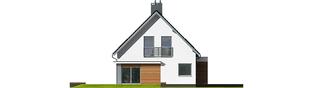 Projekt domu Lars G1 (wersja A) - elewacja lewa
