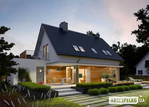 Проект будинку - Ларс (Г1, версія А)