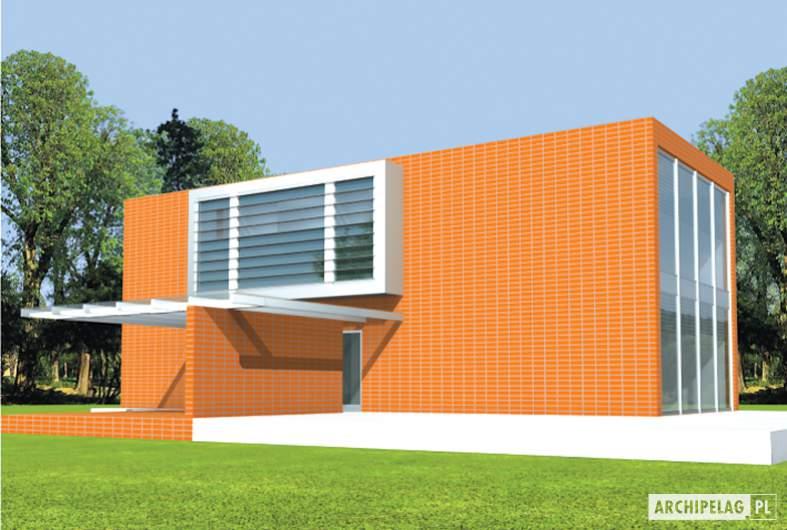 Projekt domu Romek (z wiatą) -