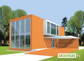 Projekt domu Romek (z wiatą) - animacja projektu