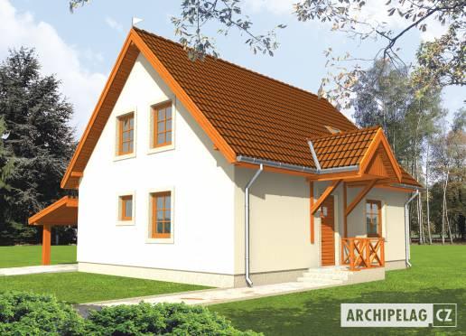 Projekt rodinného domu - Martinka