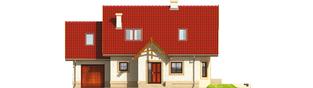Projekt domu Igusia G1 - elewacja frontowa