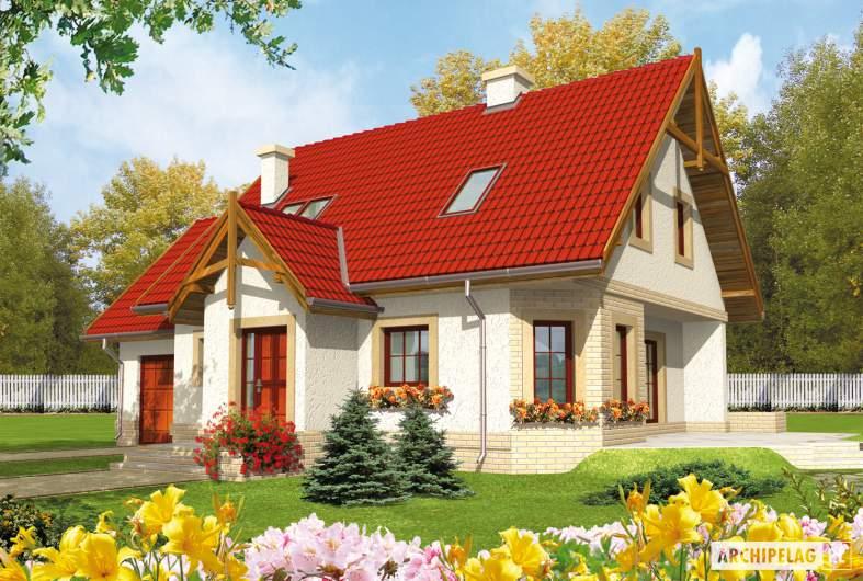 Projekt domu Igusia G1 -