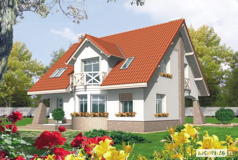 Projekt domu Jagienka -