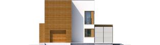 Projekt domu EX 5 G1 soft - elewacja frontowa