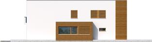 Projekt domu EX 5 G1 soft - elewacja lewa
