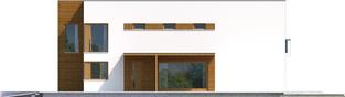 Projekt domu EX 5 G1 soft - elewacja prawa