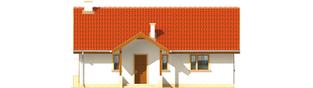 Projekt domu Joachim - elewacja frontowa