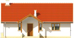 Joachim - Projekt domu Joachim - elewacja frontowa