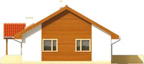 Joachim - Projekt domu Joachim - elewacja prawa
