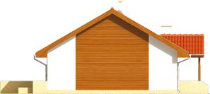 Joachim - Projekt domu Joachim - elewacja lewa