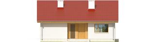 Projekt domu Rafael - elewacja frontowa