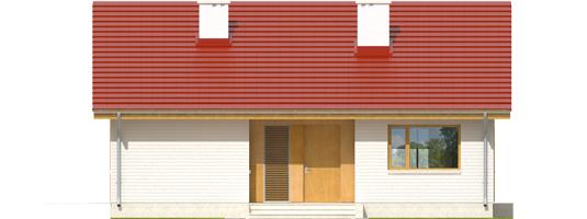 Rafael - Projekt domu Rafael - elewacja frontowa
