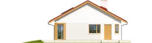 Projekt domu Rafael - elewacja lewa