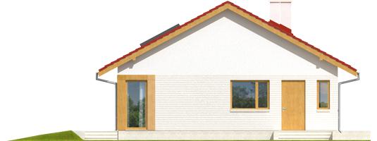 Rafael - Projekt domu Rafael - elewacja lewa