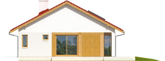 Rafael - Projekt domu Rafael - elewacja prawa