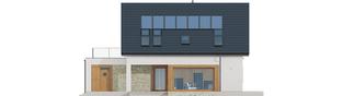 Projekt domu Santiago G1 ENERGO PLUS - elewacja tylna